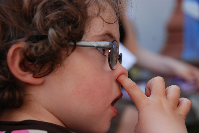 How To Stop Nose Picking Universal Scribbles