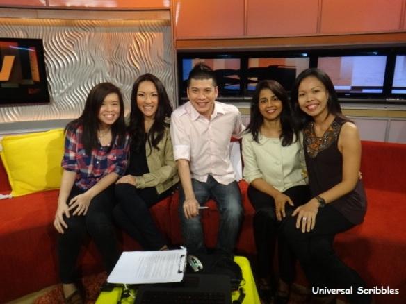 LIVE on BlogTV Singapore