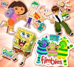 Meet and Greet Ben10, Dora, Spongebob and the Fimbles