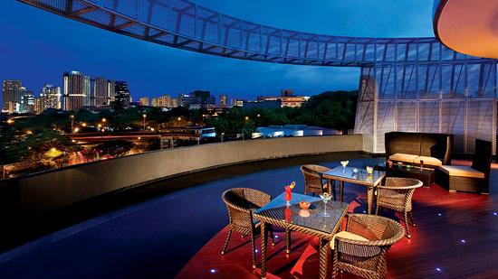 Halo Roof-top bar at Wangz