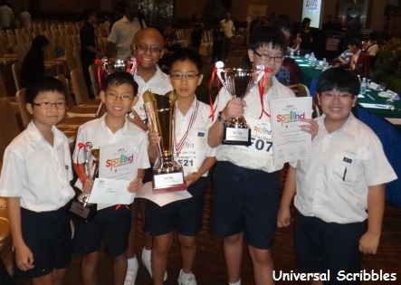 RHB-Straits Times National Spelling Championship Singapore