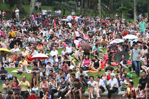 Opera in the Park by Singapore Lyric Opera