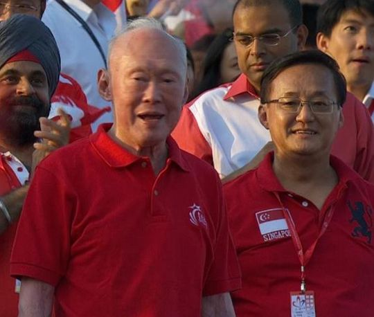 Singapore Minister Mentor Lee Kwan Yew